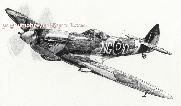 Spitfire by GregoryHumphreys