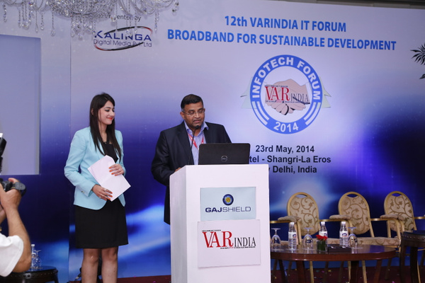 rameesh-kailasam-sr-director-apco-worldwide-on-it-forum-2014 by Varindia