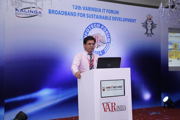 Vintcy-Kwatra-dist-account-manager-axis-communicationson-it-forum-2014 by Varindia