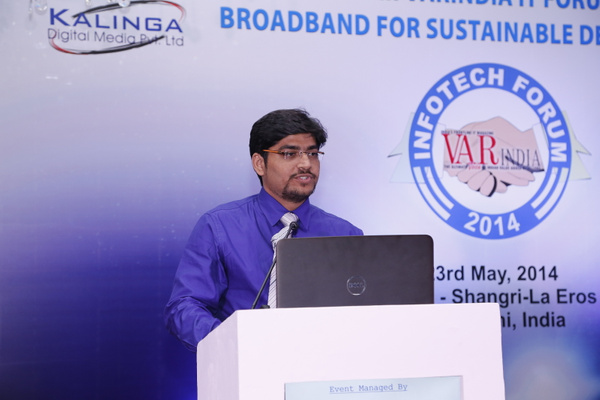Parikshit-gangaher-reg-mgr-north-fortinet-inc-on-it-forum-2014 by Varindia