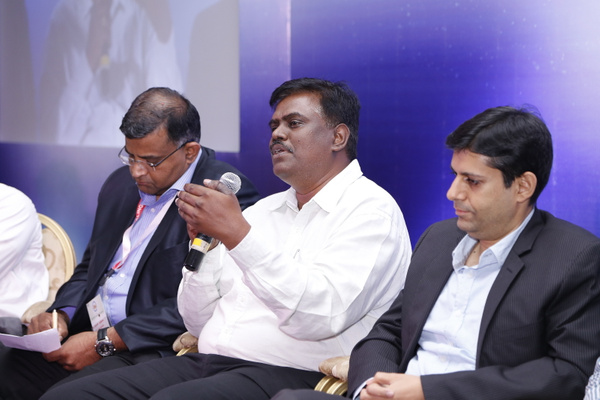 rameeshkailasam-kmohanraja-ashishkapahi-at-panel-discussion-at-12th-varindia-it-forum-2014 by Varindia
