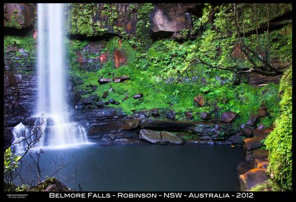 Belmore Falls Robinson NSW