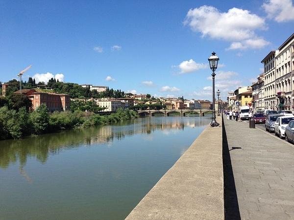 Arno River by BradAndDebbie