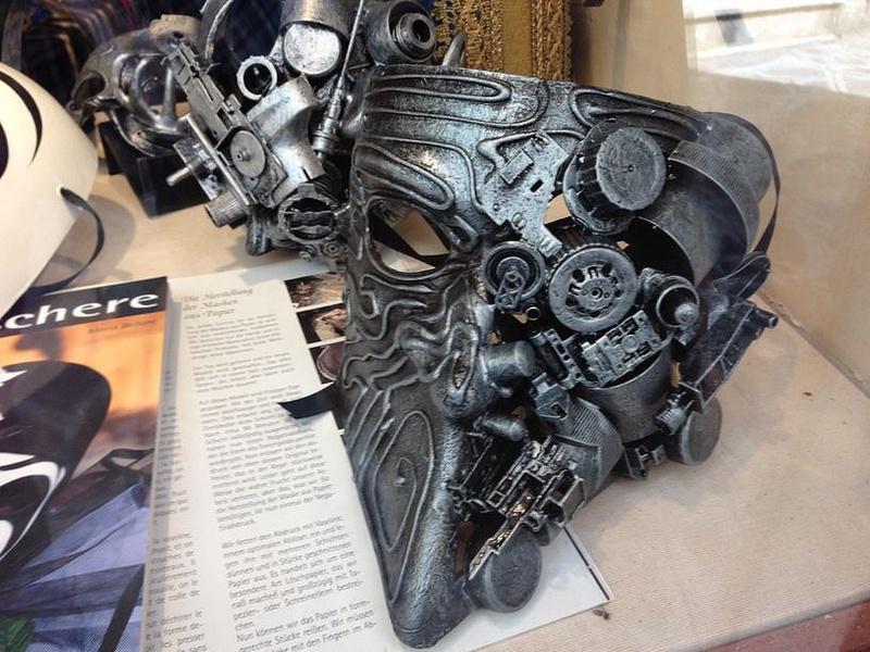 An interesting mask