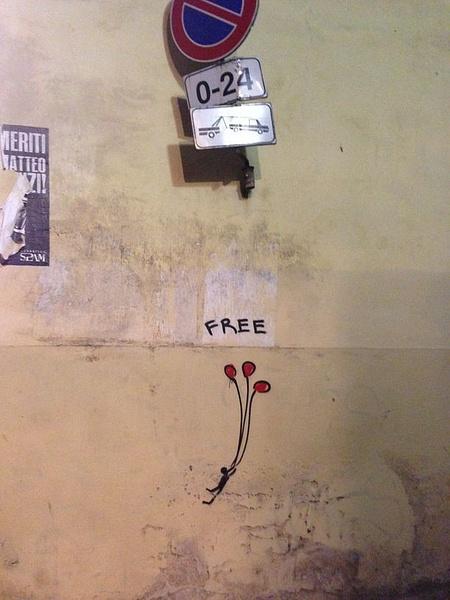 Graffitti Italian style by BradAndDebbie
