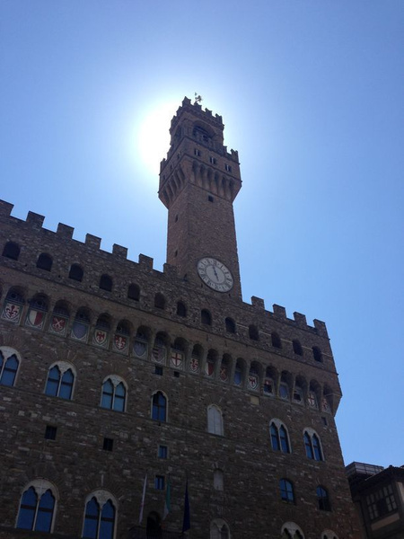 Palazzo Vecchio - city hall & (duke's) mayor's home by...