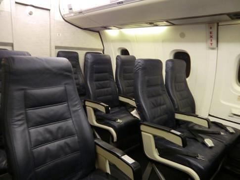 Ausstattung Flugzeug