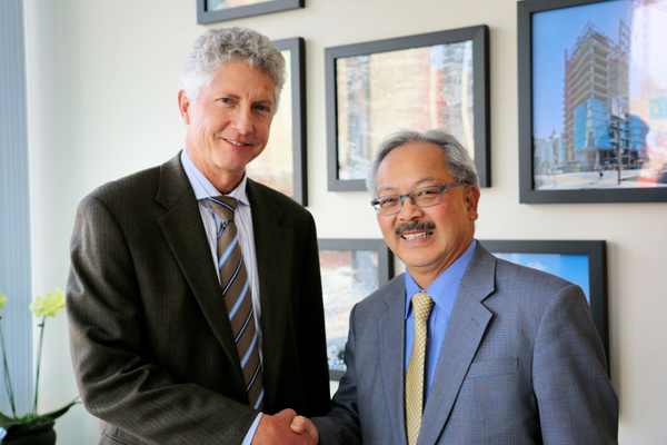 Webcor - SF Mayor Ed Lee Visits Webcor HQ by VinceSarubbi