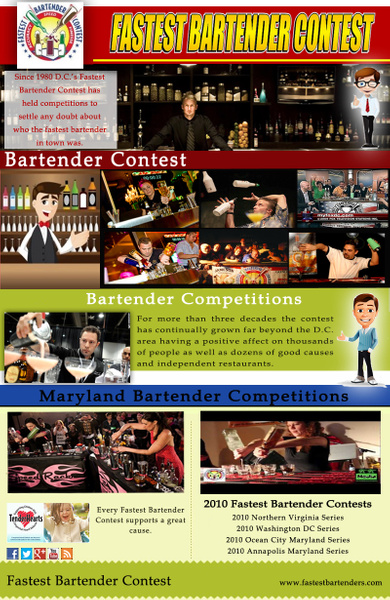 Fastest Bartender Contest by Fastestbartenders