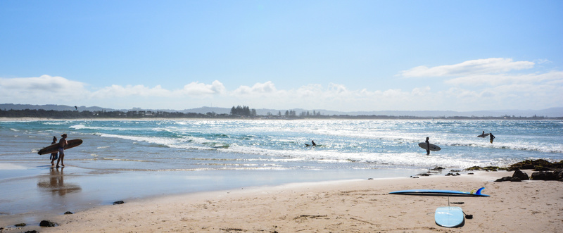 Sun, sand & surf - Byron Bay, Australia