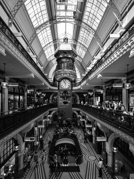 Queen Victoria Building atrium - Sydney