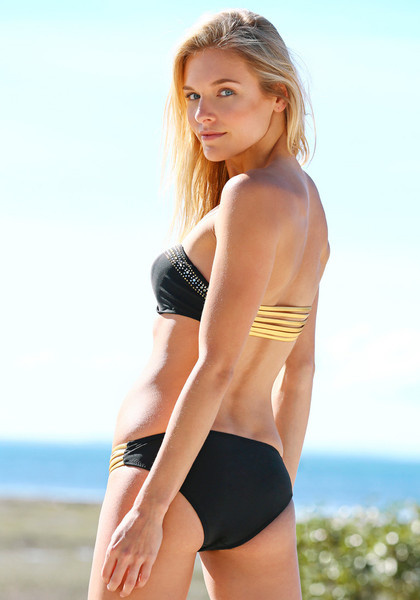 Killer Bandeau Bikini Set - Black by LookBookStore