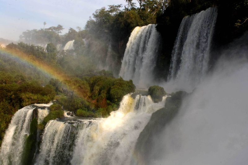 Iguazu Falls, a small view