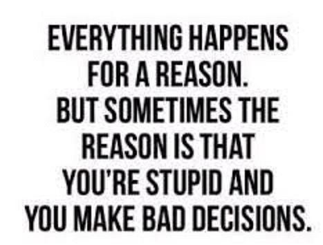 Rachel Iles and Bill Iles lesson Bad Decisions