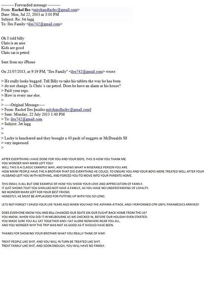 Rachel Iles Email by HowardWarner