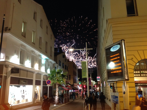 Festival of lights in Cannes by KirkCooper