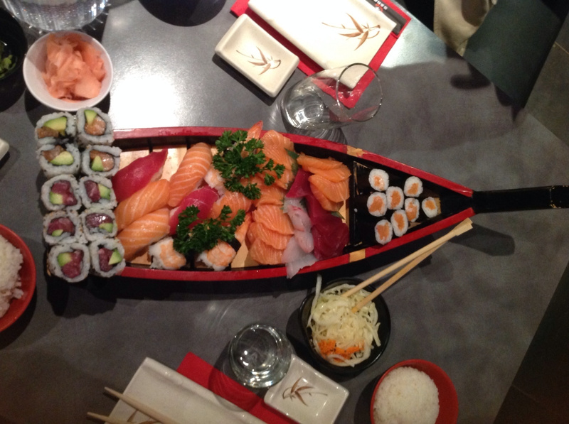 best sushi in Cannes