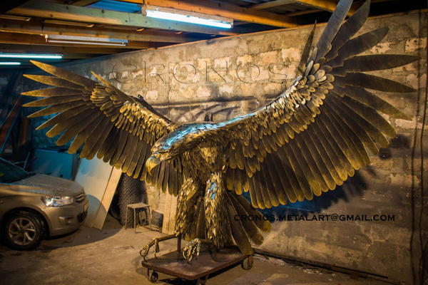 Metal Golden eagle by CRONOSMetal