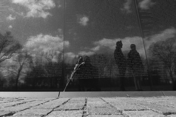 Vietnam war memorial by Neminem