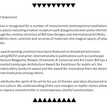 Artist Statement and Resume