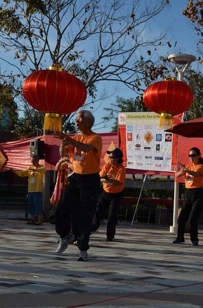 Ba's Tai Chi performance by Dorothy Liu