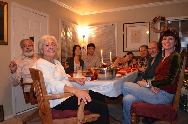 Christmas 2013 at Lora's by Dorothy Liu