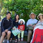 Alice's family visit Mar 2015