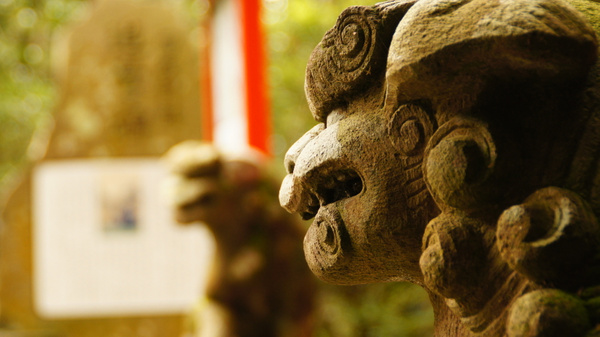 Temple guardians - Hakone by luis0093