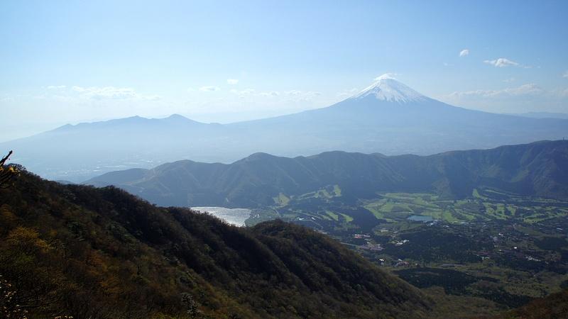 At the top  - Hakone