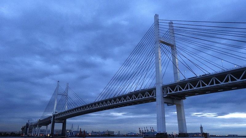 Bridge in Yokohama