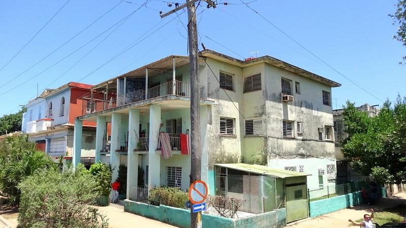 House in a sunny day, Havana - Cuba