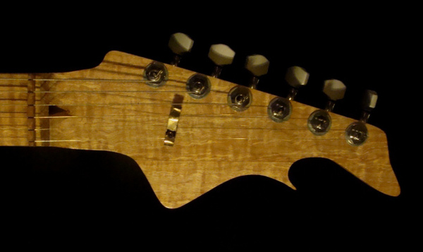 headstock by GeodeGuitars