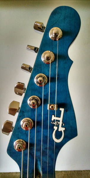 blue stained neck 1 by GeodeGuitars