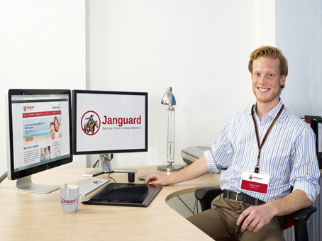 Janguad employee by JanguardInc