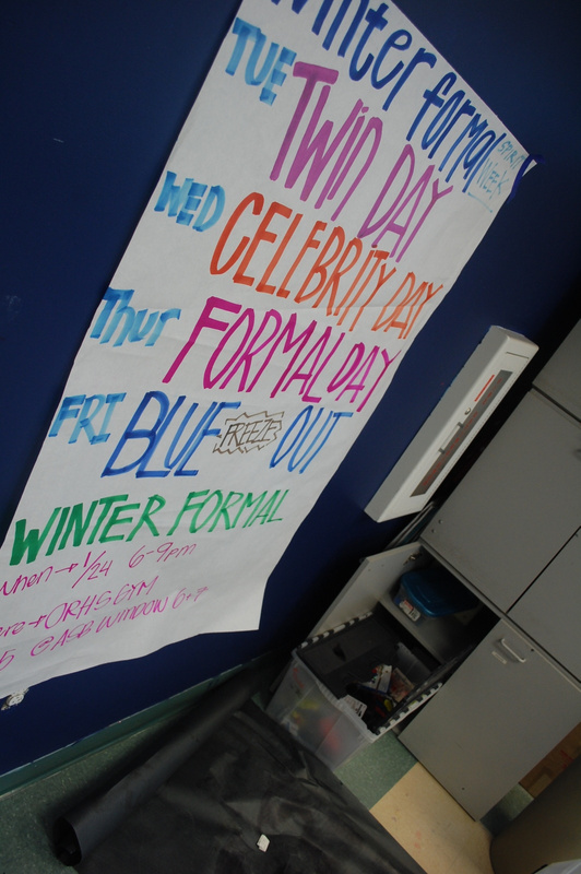 winter formal spirit week