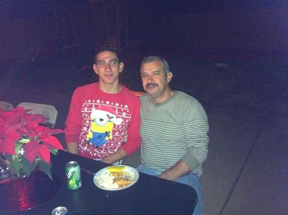 me and pops