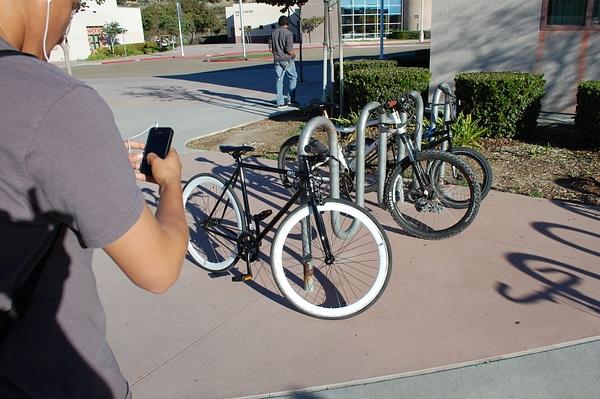 cool b&w bike by JoseRodriguezPeriod2