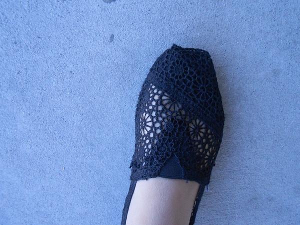 kaseys lace pattern shoe by JoseRodriguezPeriod2