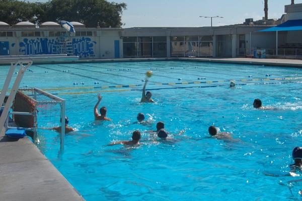 water polo practice by JoseRodriguezPeriod2
