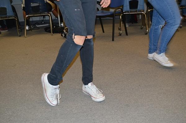 stretch ankles by JoseRodriguezPeriod2