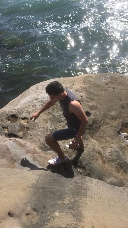 rigorous climb