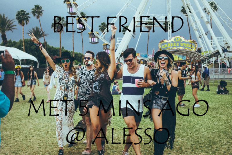 BEST FRIENDS AT COACHELLA
