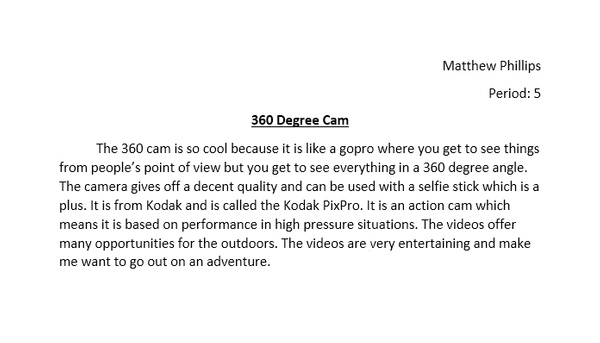 360 Degree Cam by MatthewPhillips54989