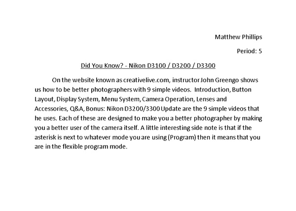 Did You Know? by MatthewPhillips54989