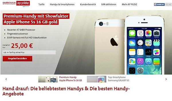AY YILDIZ Handy und Smartphones by User11700838