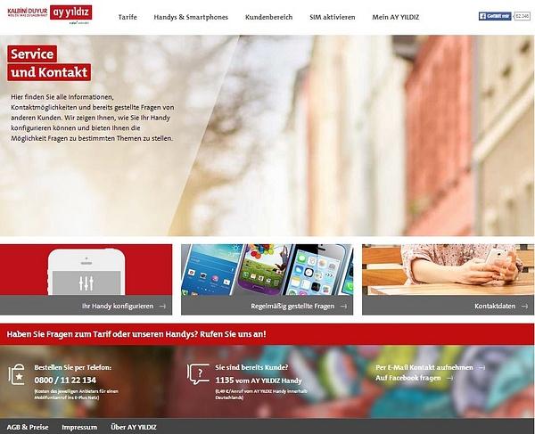 AY YILDIZ Kundenservice by User11700838