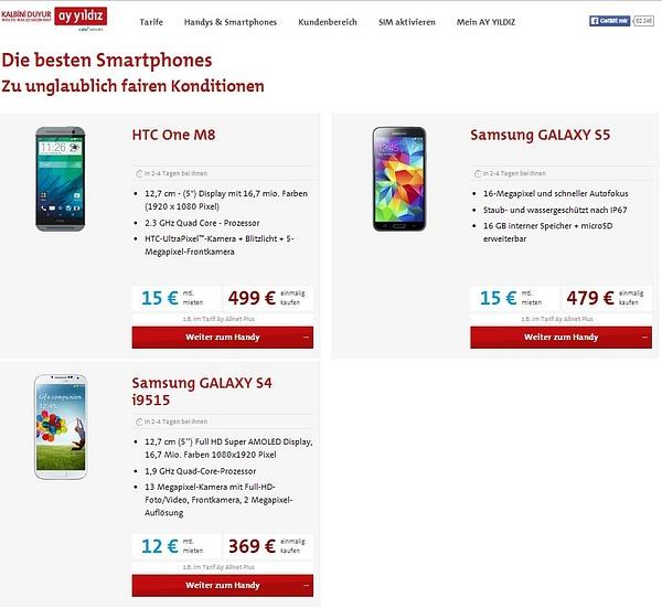 AY YILDIZ Beste Smartphones by User11700838