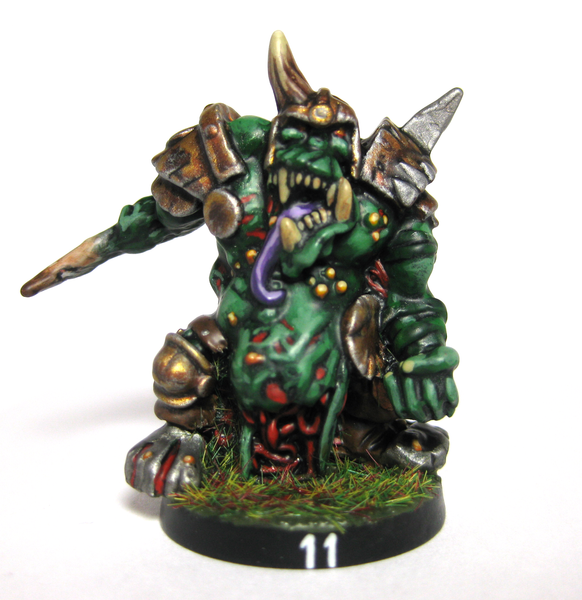 Nurgle, OrcRotter, 28mm by Vusfnuv