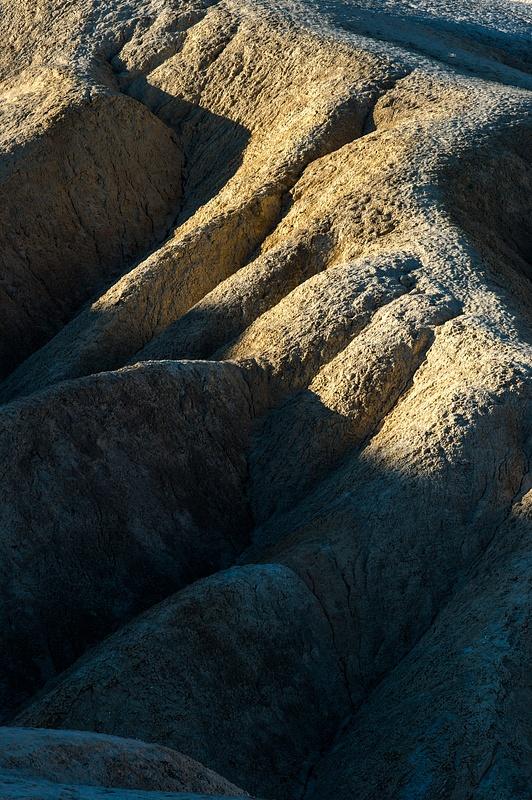 Badlands. Death Valley, 2015