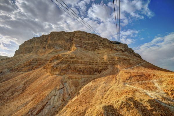 Aloft Towards Masada by Aurelia